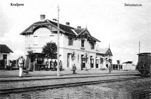 Kraljevačka železnička stanica za vreme I svetskog rata