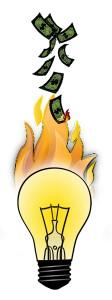 Sijalice sagorevaju pare