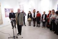 Akademik subotić govori na otvaranju izložbe