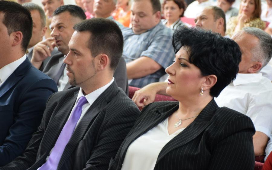 Gradonačelnik Kraljeva dr Predrag Terzić i zamenica gradonačelnika arhitekta Marica Mijajlović