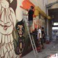 Grafiteri iz Kraljeva na delu-foto Miljana. N