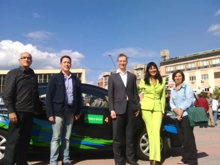 Zelena podrška Tesla reliju